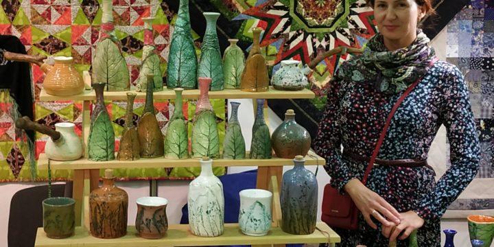 Близость природной эстетике! Интерьерная керамика Елены Колмогоровой.